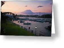 Early Morning Hamilton Harbor Greeting Card
