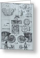 Early Odometer Greeting Card by Science Source