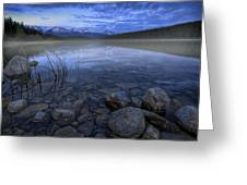 Early Summer Morning On Patricia Lake Greeting Card