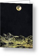 Earth From Moon Greeting Card