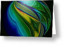 Earth In Motion Greeting Card