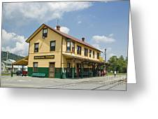 East Broad Top Station 1 Greeting Card