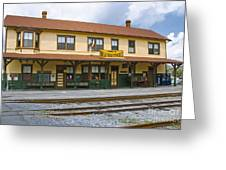 East Broad Top Station 2 Greeting Card