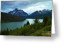 East Glacier Greeting Card