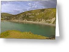 East Lulworth Cove Panorama Greeting Card