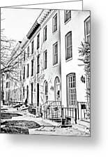 East Montgomery St  Balitmore Md  Greeting Card