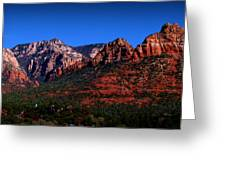 East Sedona Colors Greeting Card