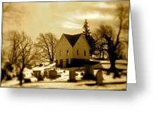 East Shelby Cemetary Greeting Card