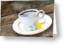 Easter Coffee Greeting Card