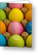 Easter Eggs Carton 2 A Greeting Card