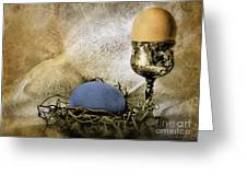 Easter With Patina 5 Greeting Card