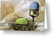 Easter With Patina 6 Greeting Card
