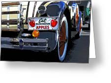 Eat Washington Apples2 Greeting Card