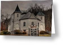 Ebenezer Arp Church Greeting Card