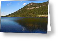 Echo Lake Franconia Notch New Hampshire Greeting Card