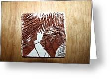 Ed And Ezra - Tile Greeting Card