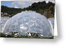 Eden Project Biome Greeting Card