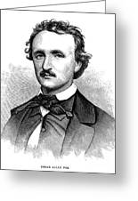 Edgar Allan Poe (1809-1849) Greeting Card