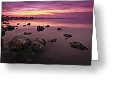 Edge Of A New Day Greeting Card