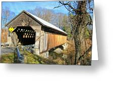 Edgell Covered Bridge Greeting Card