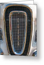 Edsel Grille Greeting Card