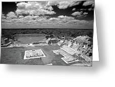 Edzna Ruins Campeche Mexico Greeting Card