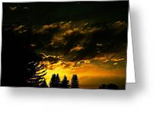 Eerie Evening Greeting Card