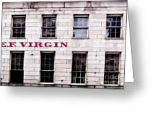 Ef Virgin Greeting Card