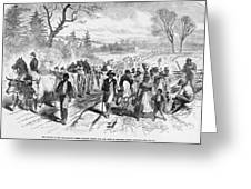 Effects Of Emancipation Proclamation Greeting Card by Photo Researchers