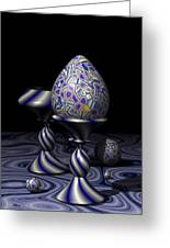 Egg And Goblet Greeting Card