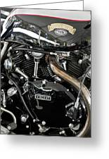 Egli-vincent Godet Motorcycle Greeting Card