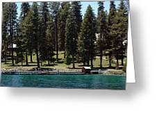 Ehrman Mansion Lake Tahoe Greeting Card