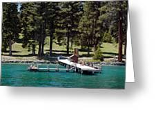 Ehrman Mansion Sugar Pine Point State Park Greeting Card