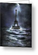 Eiffel   Greeting Card