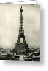 Eiffel Tower 1890 Greeting Card