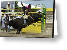 Rodeo Eight Seconds Greeting Card