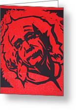 Einstein 2 Greeting Card