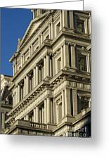 Eisenhower Executive Office Building Washington Dc Greeting Card
