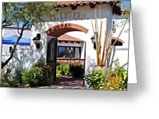 El Chorro Lodge Greeting Card