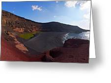 El Golfo Panorama Greeting Card