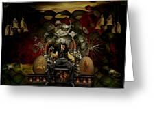 El Mago Greeting Card