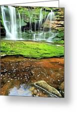 Elakala Falls Portrait Greeting Card