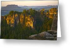 Elbe Sandstone Highlands Greeting Card