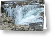 Elbow Falls Greeting Card