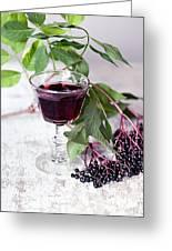 Elderberries 04 Greeting Card