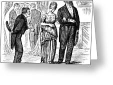 Election Cartoon, 1877 Greeting Card by Granger