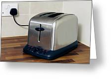 Electric Toaster Greeting Card by Johnny Greig