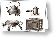 Electrical Appliances, 1900 Greeting Card by Sheila Terry