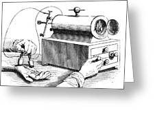 Electrical Device, 1876 Greeting Card