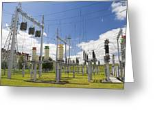 Electricity For A City Greeting Card